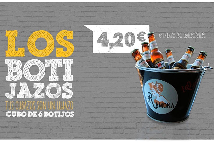 Cubos de cerveza por 4,20€