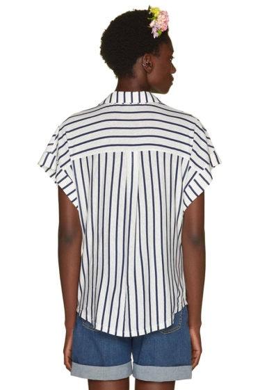 camiseta rayas benetton