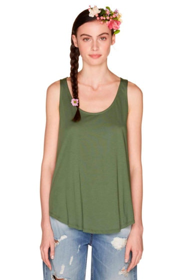 camiseta verde benetton