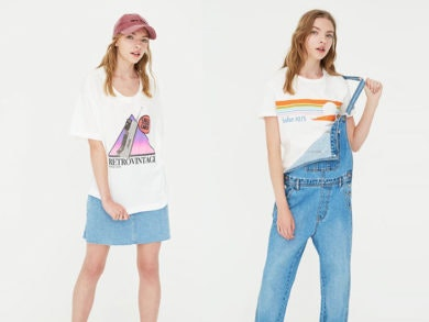 camisetas Pull and Bear