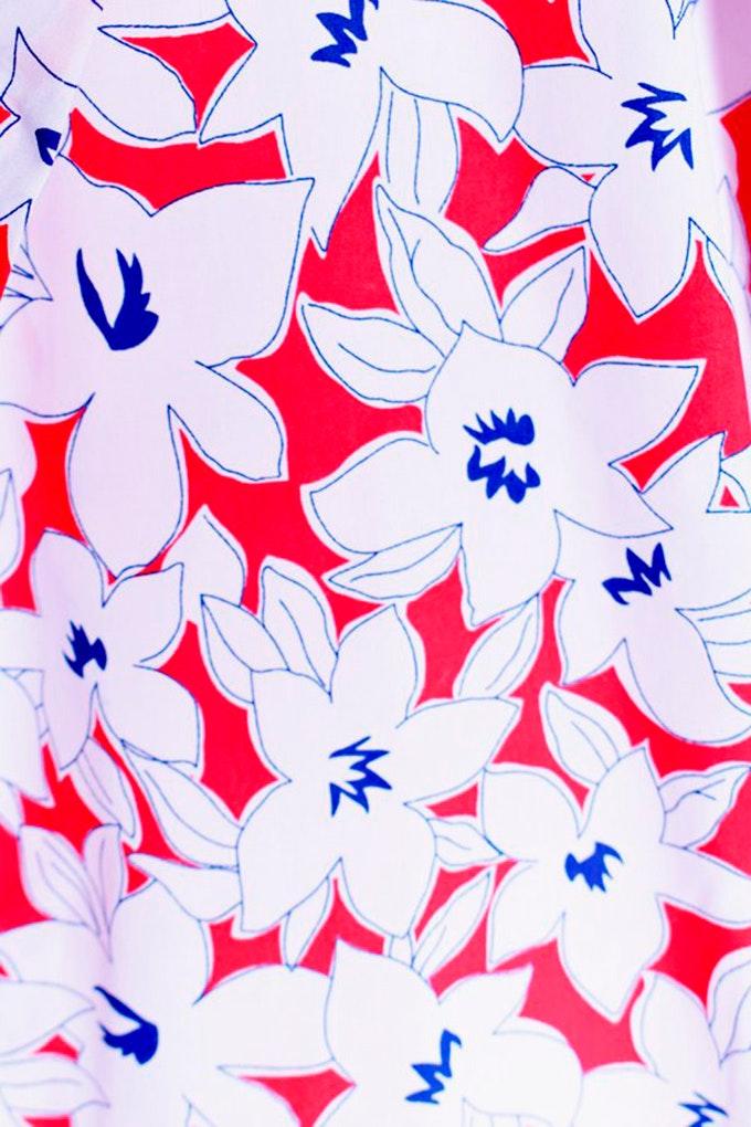 camisa floral celop