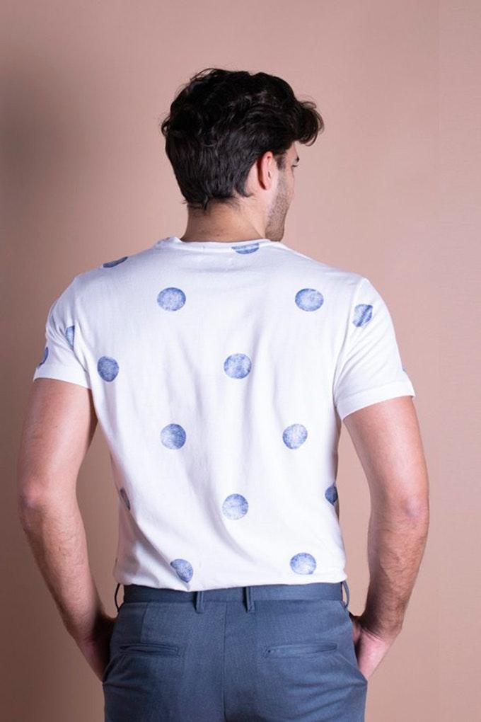 camiseta lunares celop