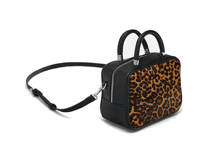 bolso bandolera estampado animal