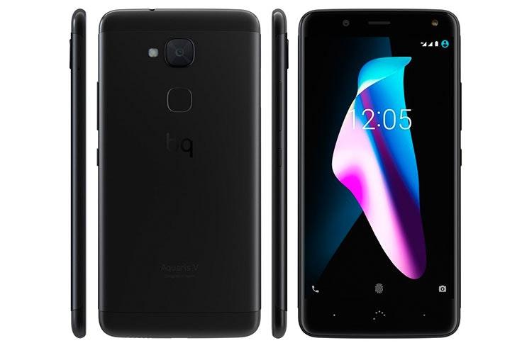 Los mejores móviles 2018 calidad-precio. BQ Aquaris V