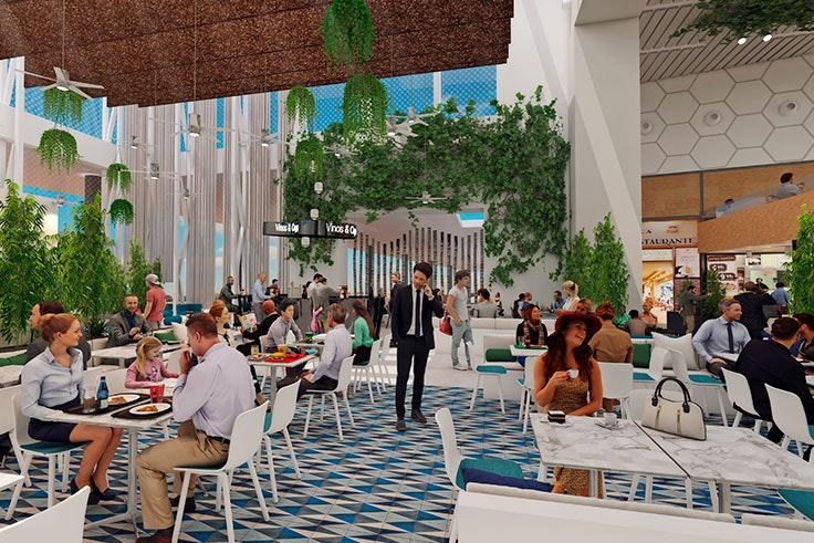 reforma food court Luz del Tajo