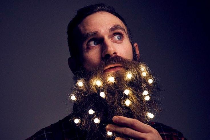 barba iluminada