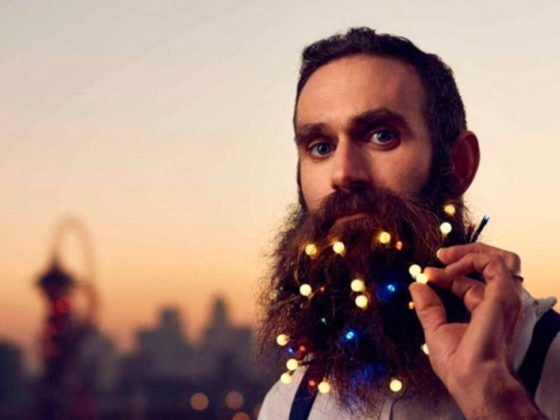 barbas con luces