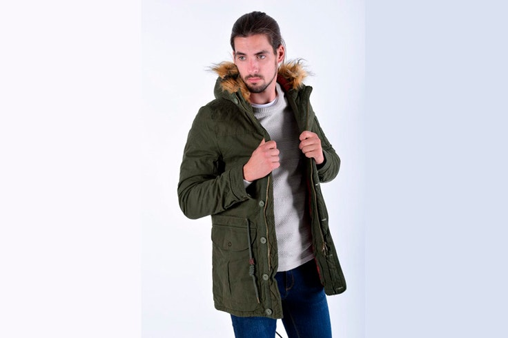abrigo-parka-verde-kaki-capucha-peluda-celopman