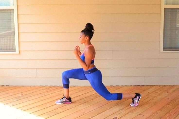 ejercicios para hacer en casa zancadas