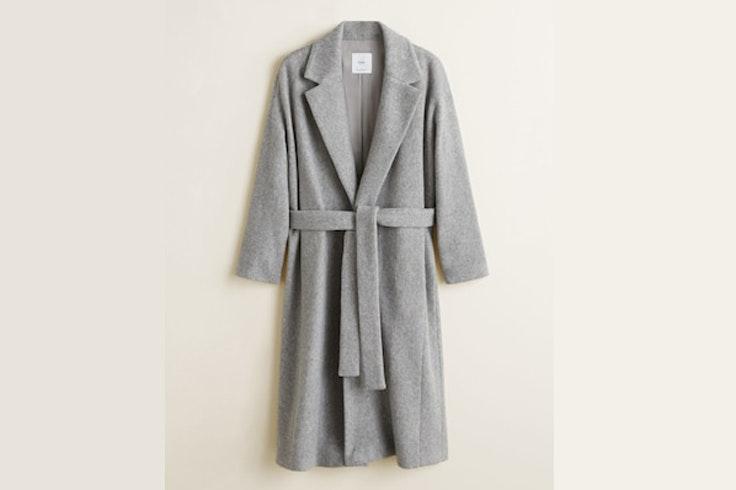 abrigo-gris-lana-cinturon-mango