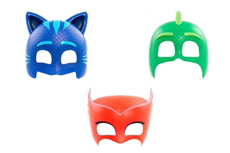 mascaras de carnaval juguettos pj masks