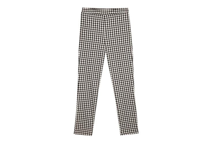 pantalon-ajustado-cuadros-vichy-stradivarius