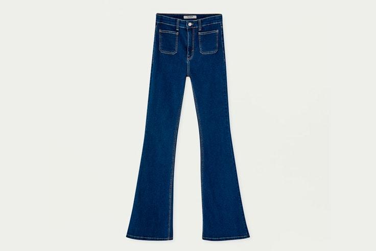 pantalon-campana-perspunte-contraste-pull-and-bear