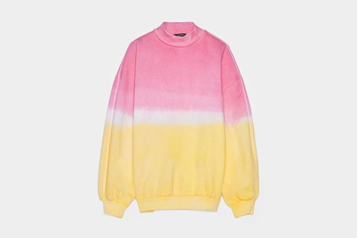 sudadera-tie-dye-rosa-amarillo-bershka