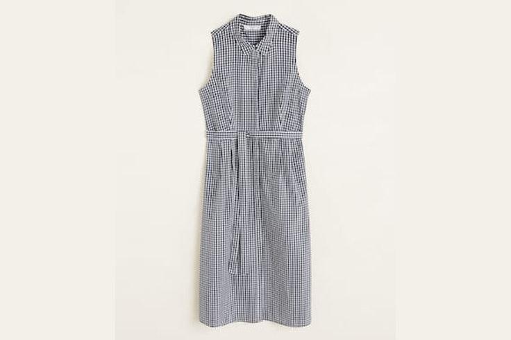 vestido-largo-cuadros-vichy-mango
