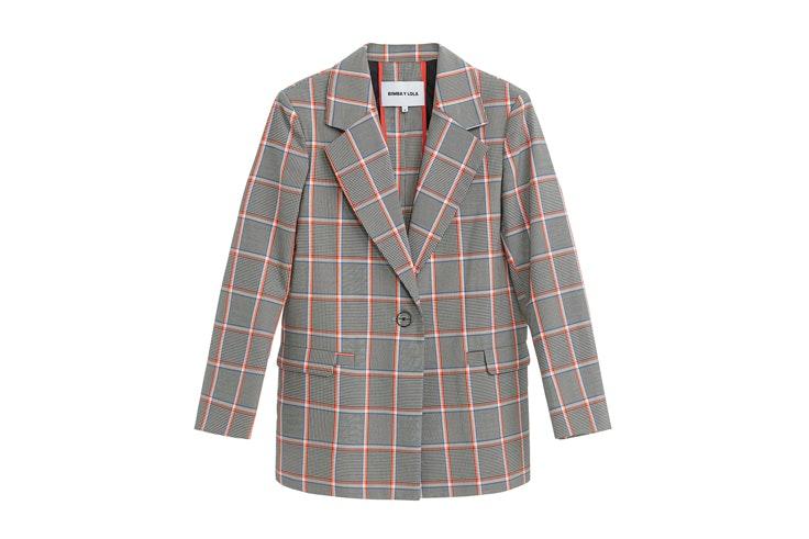 chaqueta-blazer-cuadros-bimba-y-lola