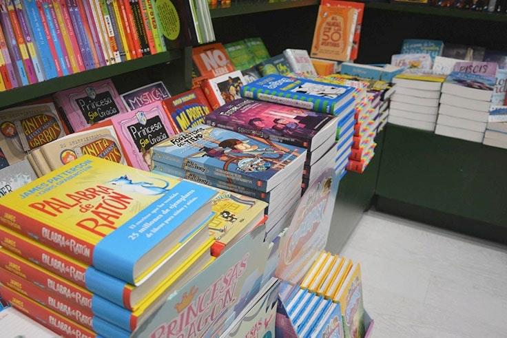 librería taiga
