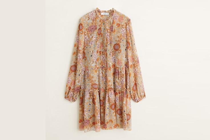vestido-gasa-estampado-flores-mango