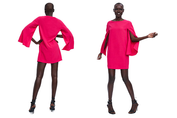 zara-vestido-corto-rosa
