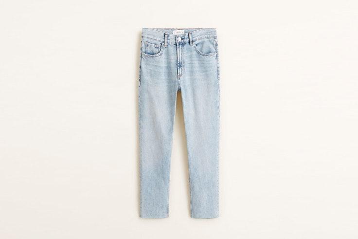 jeans rectos de mango