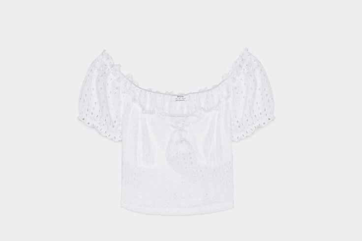 Camisa mesonera de Bershka