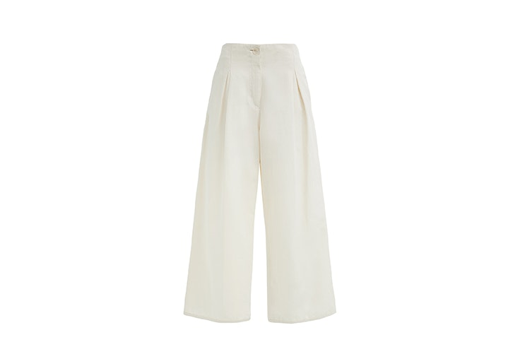 pantalon blanco bimba y lola el estilo de Julie Sariñana