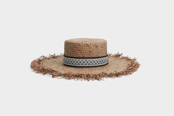 sombrero rafia parfois imprescindibles de verano