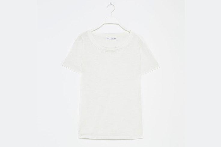camiseta basica blanca sfera