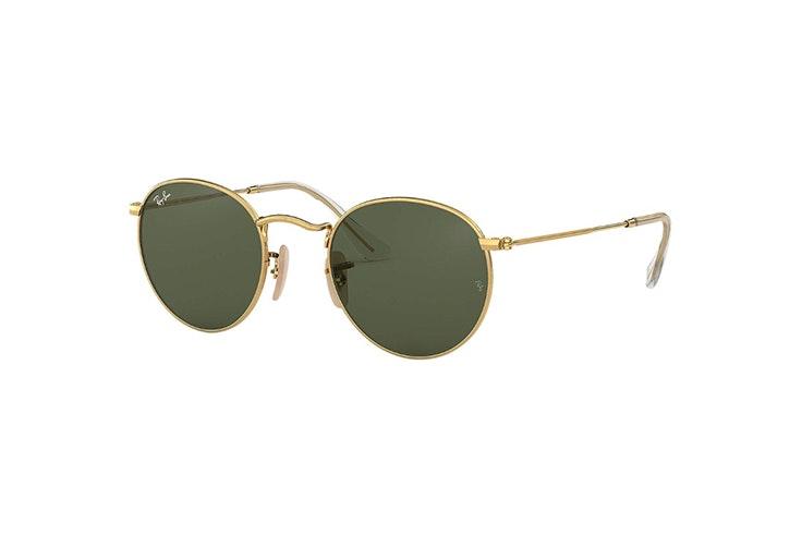 gafas-de-sol-doradas-redondas-ray-ban-soloptical