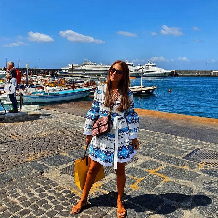 paula echevarria instagram calzado de verano
