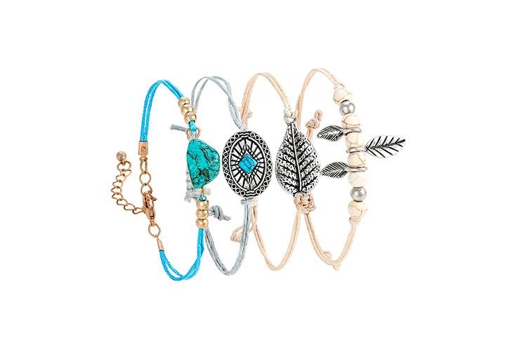 pulseras finas colores bijou brigitte