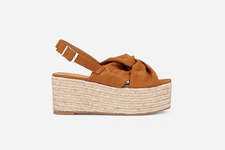 sandalia esparto plataforma calzado de verano marypaz