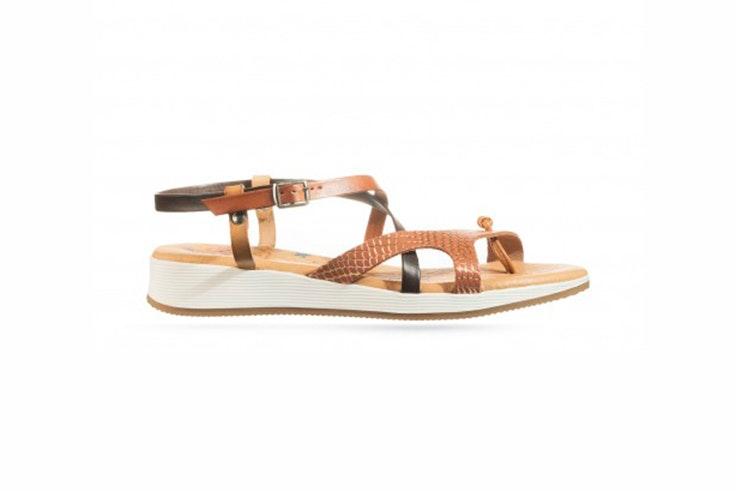 sandalia plana calzado verano rks