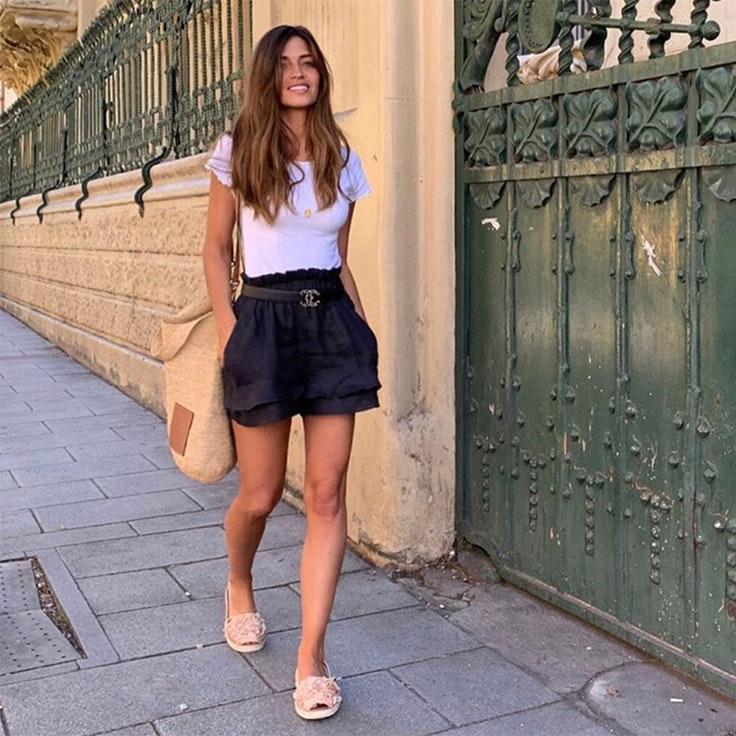 sara carbonero calzado de verano