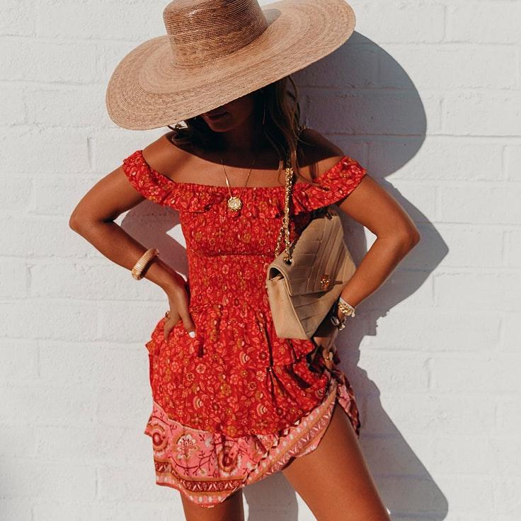 collage vintage vestidos cortos