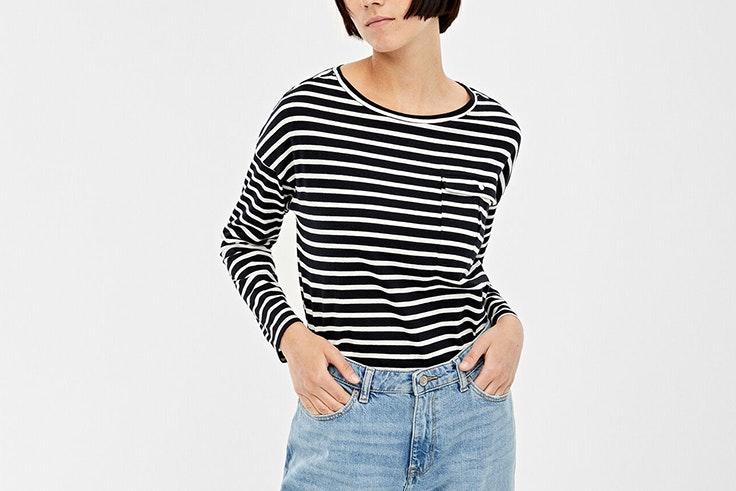 camiseta rayas springfield vicky martin berrocal