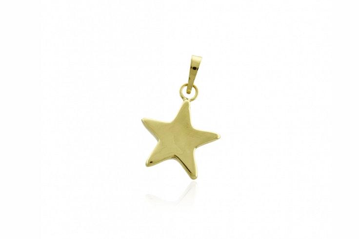 colgante dorado estrella roselin