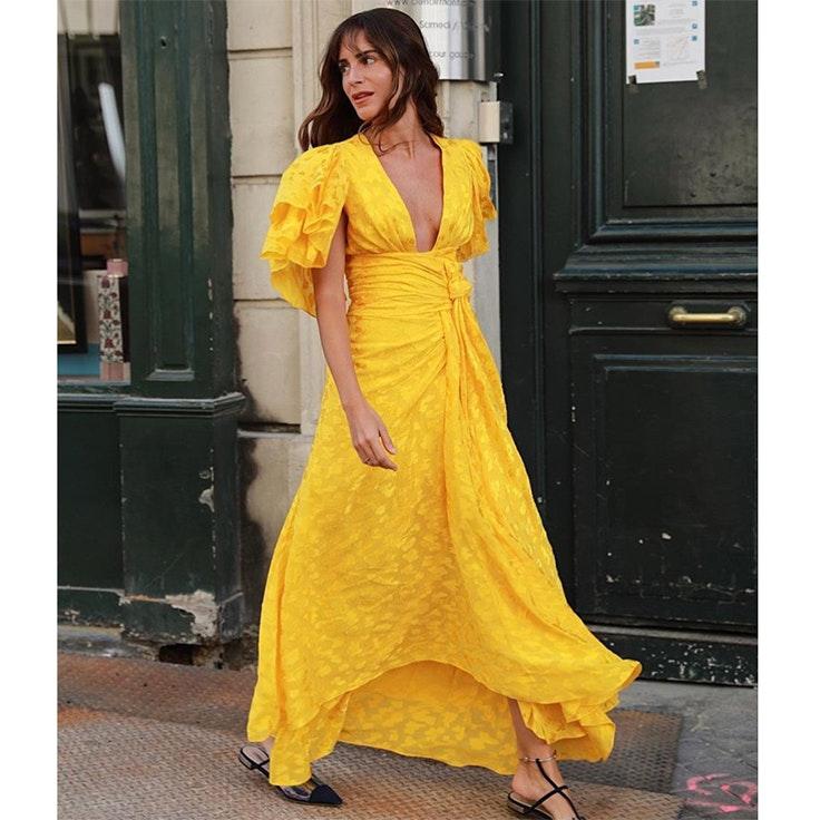 Gala Gonzalez vestidos largos