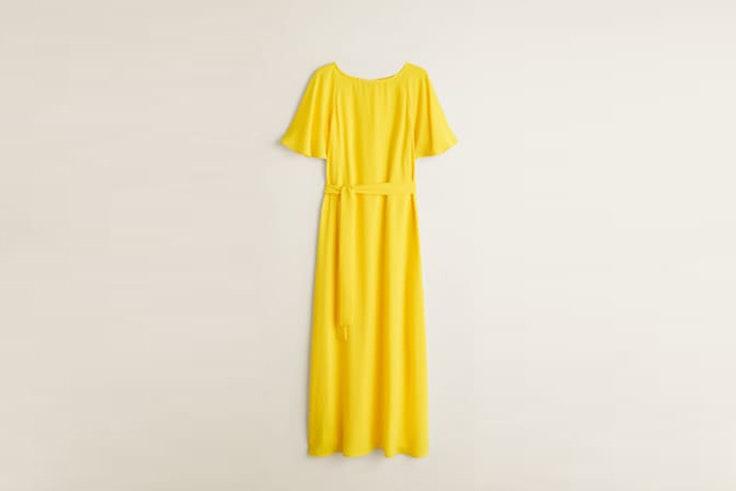 vestido mango vestidos largos
