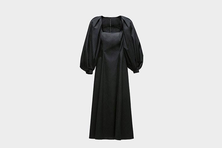 vestido zara fashion week