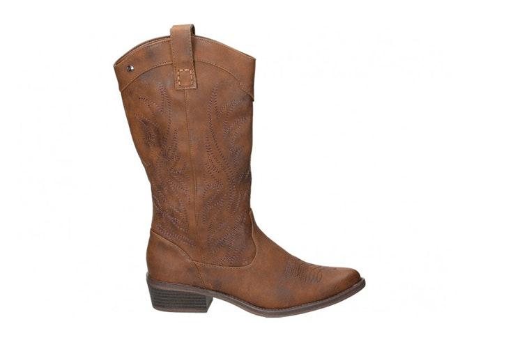botas altas cowboy marrones Loogo