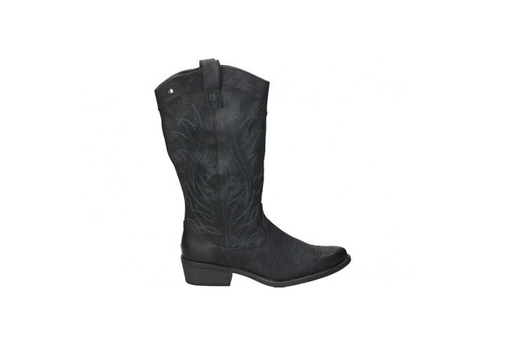 botas cowboy negras loogo accesorios de otoño
