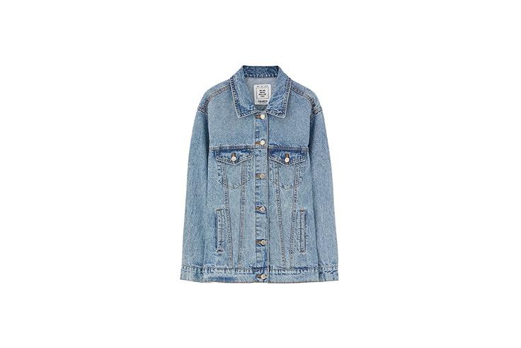 chaqueta oversize denim Nuria Roca