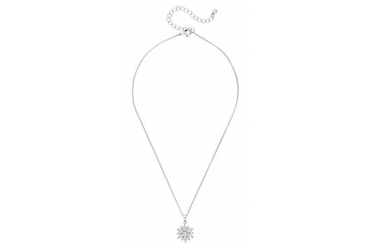 colgante plata detalle diamantes bijou brigitte