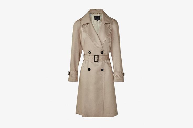 gabardina beige massimo dutti chaquetas de entretiempo