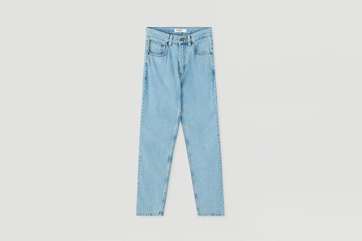 mom jeans pull and bear vaqueros