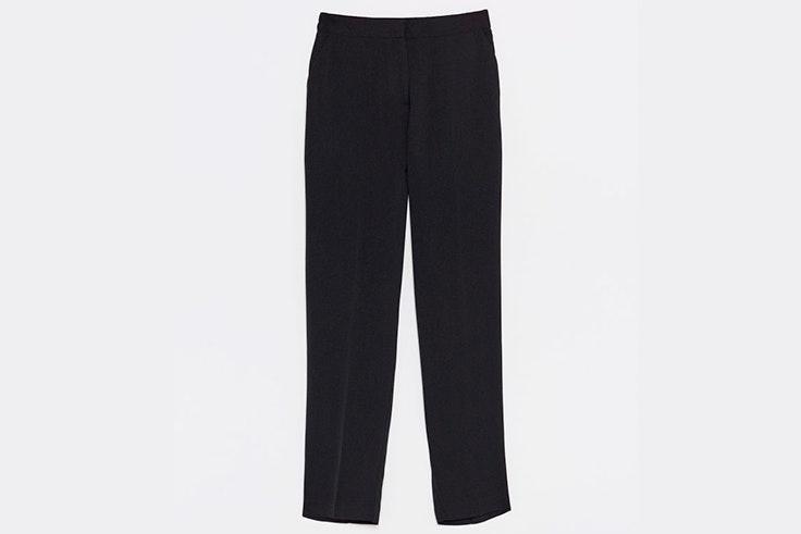 pantalones negros largos de sfera