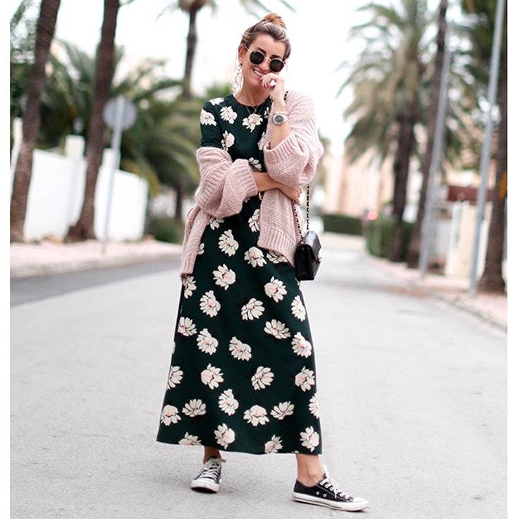 silvia garcia vestidos de flores