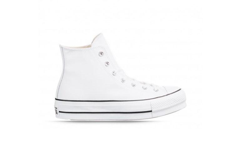 zapatillas blancas plataforma converse rks