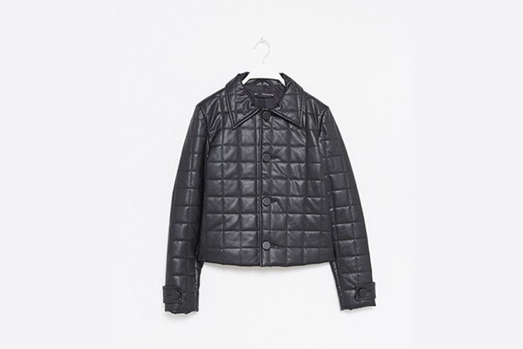 chaqueta efecto piel sfera abrigos de las influencers
